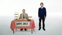 "Apple ""Get a Mac"" Ad: Bake Sale"