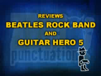 Beatles Rock Band and Guitar Hero