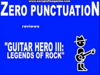 Zero Punctuation: Guitar Hero III