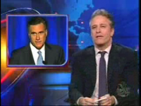 The Daily Show: Romney says goodbye