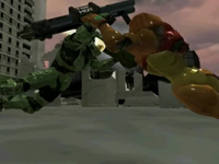 Master Chief vs. Samus Aran: Haliod