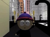 Matrix Trailer with South Park characters