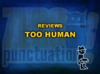Zero Punctuation: Too Human